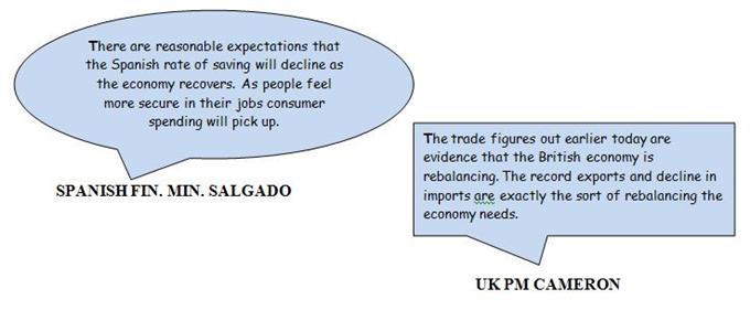Daily Sound Bites: PM Cameron Sees UK Economy Rebalancing