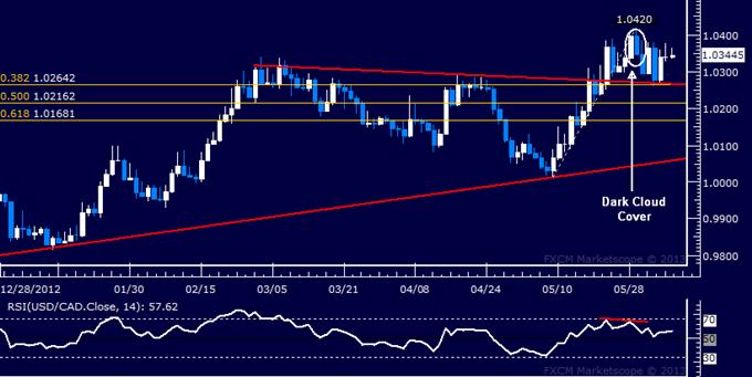 USD/CAD Technical Analysis 06.06.2013