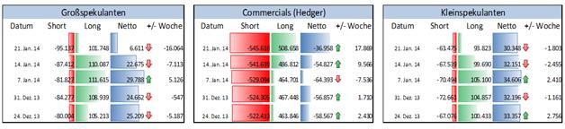 Deutlicher Rückgang von institutionellen Spekulanten im S&P500 warnt Anleger vor einer weiteren Korrektur in den US-Märkten.