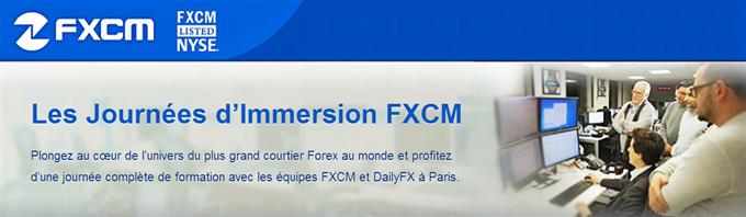 Les journées d'immersion FXCM - Apprenez le trading et le Forex dans nos bureaux à Paris