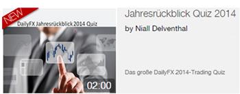 Das große 2014 DailyFX Quiz