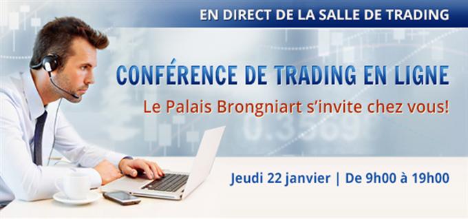 Conférence de trading FXCM : Le Palais Brongniart s'invite chez vous le 22 janvier