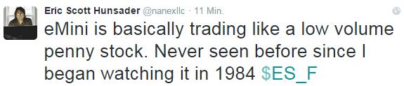 DAX: stärkste Schwankungen seit 2011, Liquidität am Futures-Markt im Penny-Stock-Bereich