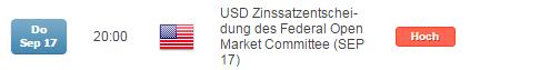DAX unverändert zum Vorwochenschluss in neue Handelswoche, alle Augen auf der FED