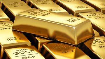 L'once d'or dans un canal descendant