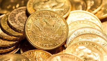 Once d'or : Malgré la hausse du dollar, le métal jaune profite de son aspect refuge.