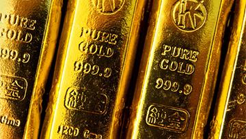 Once d'or : Baissier, le cours de l'once d'or teste le seuil à 1 200$