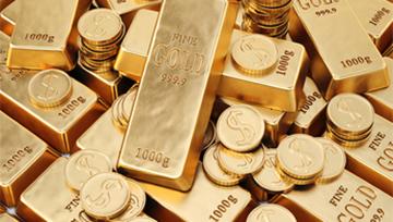 Once d'Or : divergence haussière prix/momentum depuis le support à 1250$ - non active actuellement